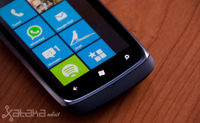 Nokia Lumia 610 prueba