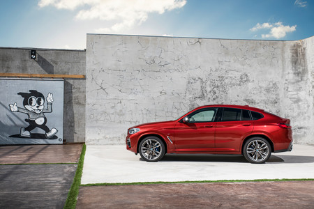 BMW X4 lateral