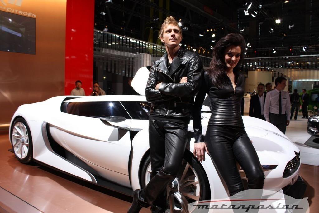 Foto de Citroën GT Concept en el Salón de París 2008 (1/14)