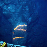 ¿Cuál es la erupción volcánica a más profundidad oceánica jamás vista?