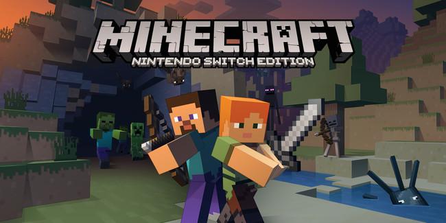 Minecraft Nintendo Switch Edition