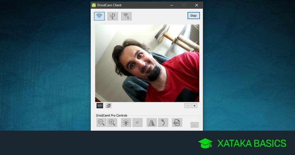 Cómo usar la cámara de usted teléfono Android™ como webcam en usted PC con Windows