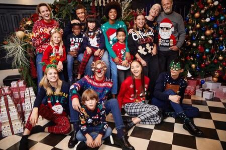 19 jerséis navideños para toda la familia que quedarían genial en cualquier foto de felicitación de Navidad