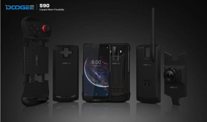 Doogee S90, el teléfono modular que puedes convertir en cámara, walkie-talkie o consola portátil