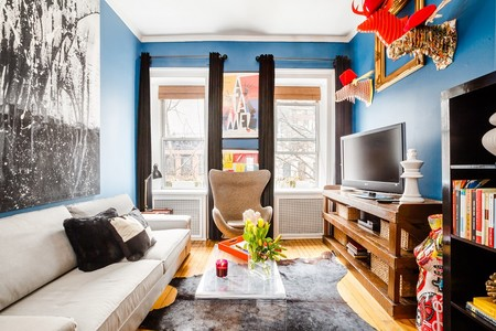 Airbnb Classic Blue Refugio Artistico Al Lado De Central Park En Manhattan 2