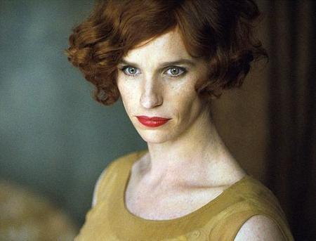 Eddie Redmayne en 'The Danish Girl', primera y sorprendente imagen
