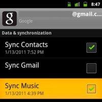 Android 2.3 permitirá la sincronización de pistas de audio