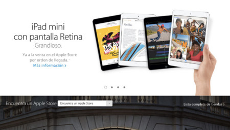 La web de las Apple Store se actualiza imitando el estilo de iOS 7