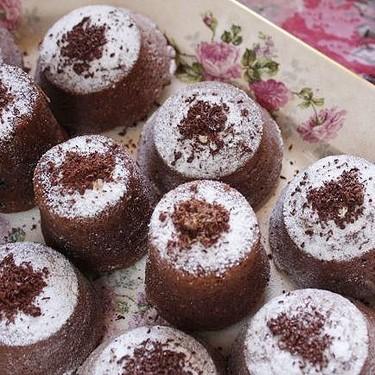 Receta de brownies de chocolate negro y avellanas