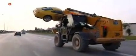 La peor forma de transportar un Ferrari 599 GTB Fiorano