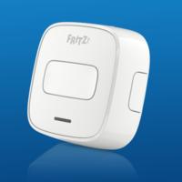 """El botón Fritz Dect 400 permite controlar a distancia los electrodomésticos """"enchufados"""" que tenemos en casa"""