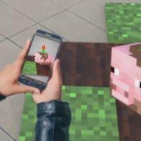 'Minecraft' se prepara para la realidad aumentada: Microsoft nos muestra una demo al más puro estilo 'Pokemon Go'