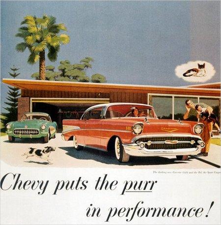 Anuncio Chevrolet clasico
