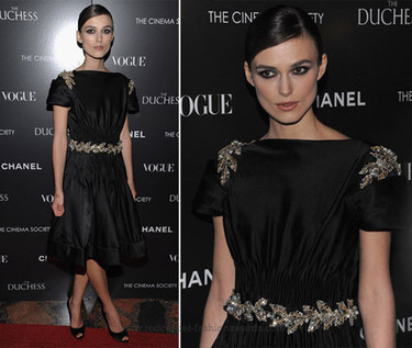 Chanel y Vogue patrocinando la premiere de The Duchess