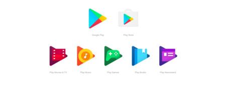 Ya están aquí los nuevos iconos de las aplicaciones de Google Play