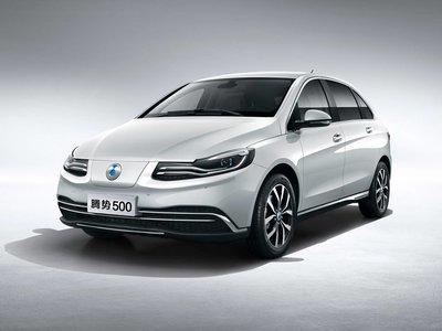 El nuevo coche eléctrico de Daimler y BYD se llama Denza 500... pero es sólo para China
