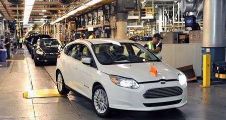 Ford comienza la producción del Focus eléctrico