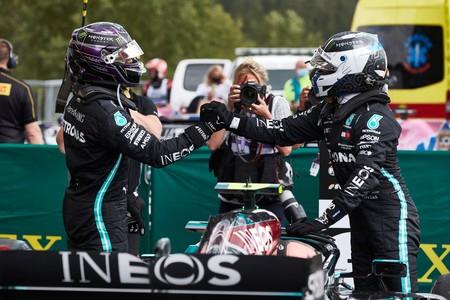 Hamilton Bottas Spa F1 2020