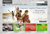 Springfield estrena web y ahora puedes comprar online