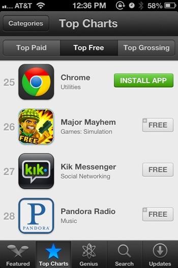 ios 6 apple app store aplicaciones