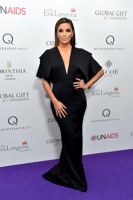 Eva Longoria En La Global Gift De Londres