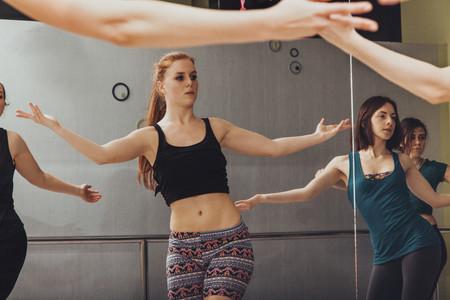 Danza en gimnasio
