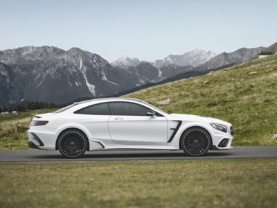 Mansory Clase S Coupé Platinum Edition: un one-off de 840 CV