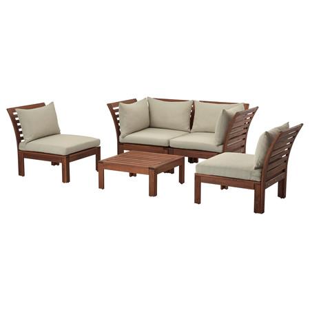 Ikea conjuntos baratos sofas exterior