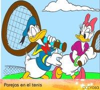 Parejas de Poprosa: Unas de tenistas
