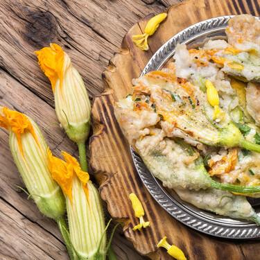 Flores de calabacín y calabaza: propiedades y usos en la cocina del manjar más delicado del verano
