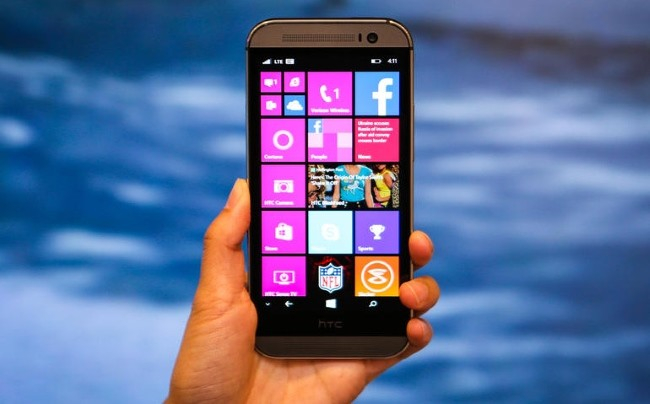 Htc One Windows10