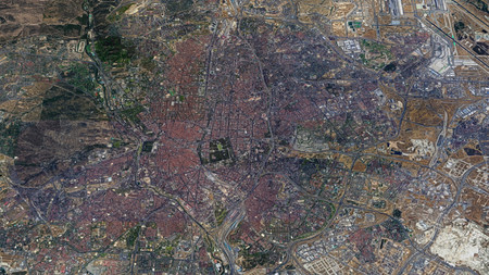 Madrid Vista Satelite