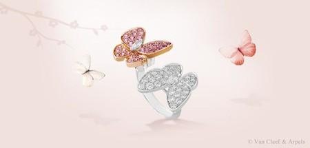 Van Cleef & Arpels presenta una nueva colección para esta Primavera 2013: Two Butterfly