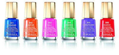 Mavala Chili & Spice, colores picantes para la Colección de esmaltes de uñas Primavera/Verano 2013