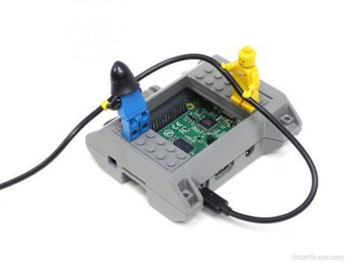 SmartiPi para Raspberry Pi es la caja ideal para los aficionados a LEGO