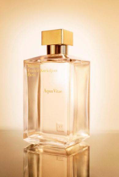 "Probamos el ""Aqua Vitae"" de Francis Kurkdjian, una fragancia mixta para los meses de verano"