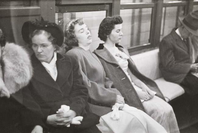 Foto de Stanley Kubrick y el metro de Nueva York (9/10)