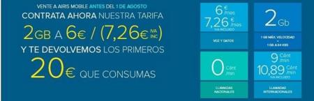 Airis Mobile rebaja el precio de su giga a 7.26 euros al mes y lanza su promoción veraniega