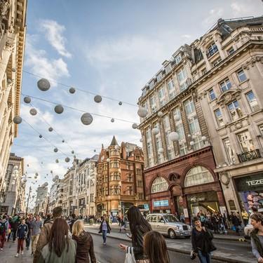 El paraíso de las compras: Oxford Street será peatonal a finales de 2018