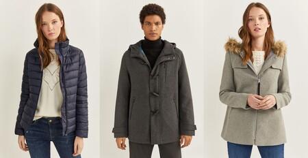 Ofertas en chaquetas y abrigos en Springfield, con descuentos de hasta el 50%