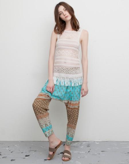 Pantalones Harem Pullandbear