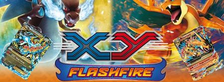 Pre-lanzamientos de la expansión Flashfire de Pokémon TCG