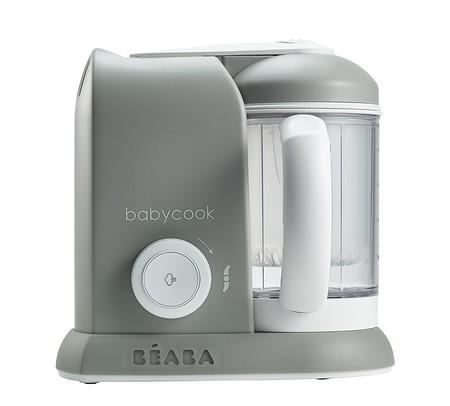 El robot de cocina Beaba Babycook 4 en 1 en color gris está rebajado a 95 euros con envío gratis en Amazon