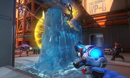 Existe un Glitch en overwatch con la muralla de Mei que ya tiene enfadado a los jugadores