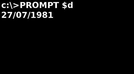 MS-DOS Cumple 30 años con nosotros