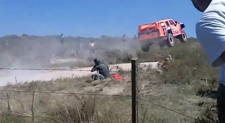 Dakar 2013: Air Robby Gordon
