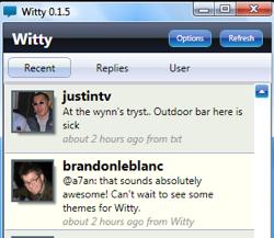 Probamos Witty, cliente Twitter para Windows
