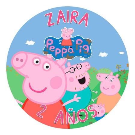 Oblea Pepa Pig