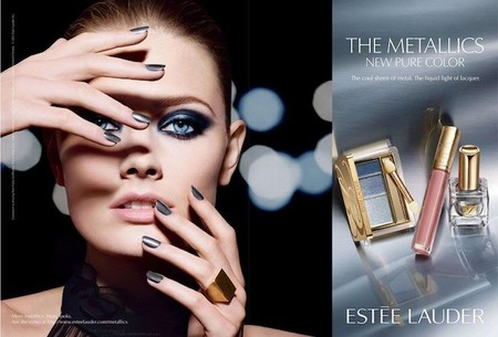 ¿Amante del maquillaje con toques metalizados? Estée Lauder presenta The Metallics