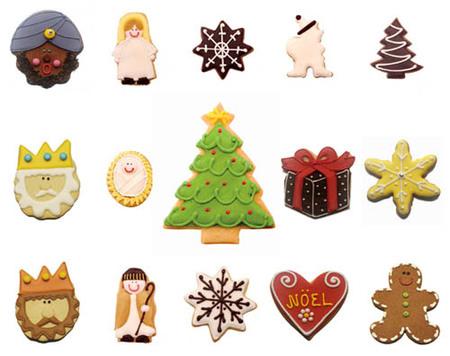 Galletas artesanales de Navidad, por Carlota's